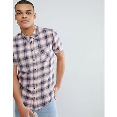 pink check short sleeve shirt - pink marki Another influence