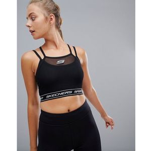 darla active bra top - black, Skechers