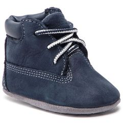 Timberland Trzewiki - crib bootie with hat a1lu3/tb0a1lu34101 navy