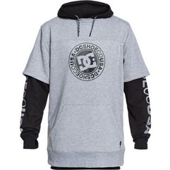 Dc bluza snowboardowa męska dryden m otlr skph neutral gray heather xl