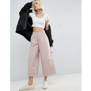 ASOS Washed Wide Leg Trousers - Multi