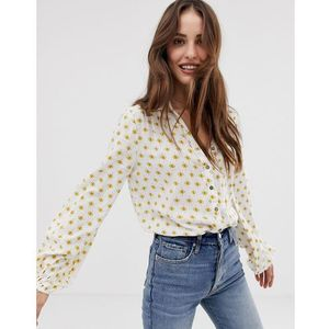 willow bodysuit - yellow, Free people