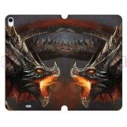 Etuo wallet book fantastic Apple ipad pro 11 - etui na tablet wallet book fantastic - bad dragon