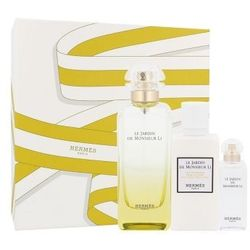 Hermes Le Jardin de Monsieur Li zestaw Edt 100 ml + Balsam do ciała 40 ml + Edt 7,5 ml unisex